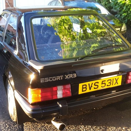 Old school ford escort XR3 repair restoration birmingham